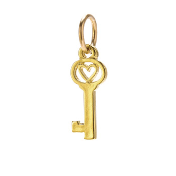 heart+key+charm%2C+gold+dipped
