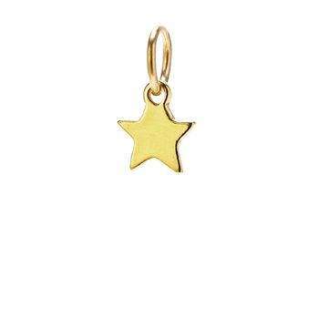 star charm, gold dipped