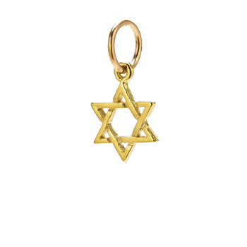 jewish+star+charm%2C+gold+dipped