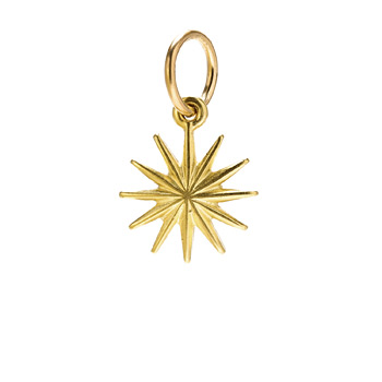 starburst+charm%2C+gold+dipped