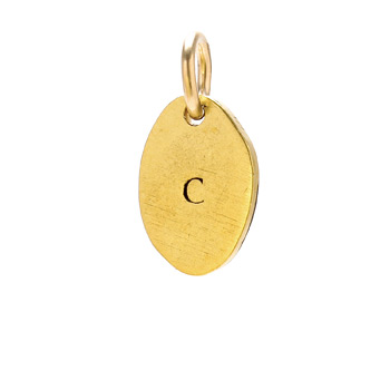 %22C%22+charm%2C+gold+dipped