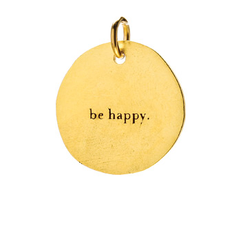 %22be+happy%22+charm%2C+gold+dipped