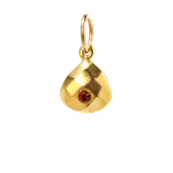november+birthstone+charm%2C+gold+dipped