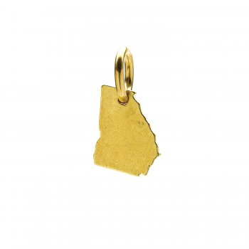 georgia+charm%2C+gold+dipped