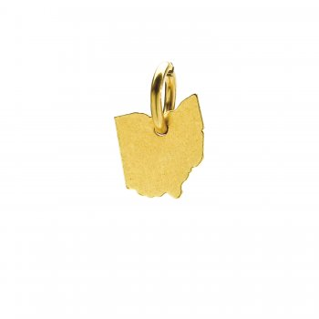 ohio+charm%2C+gold+dipped