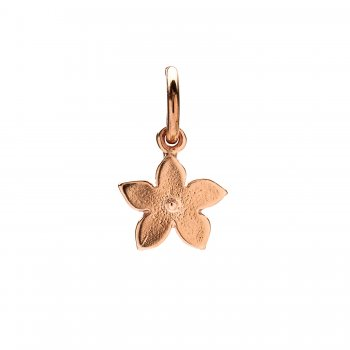 cherry blossom charm, rose gold