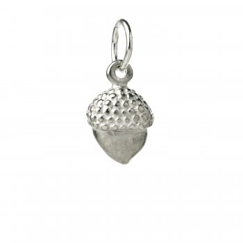 acorn+charm%2C+sterling+silver