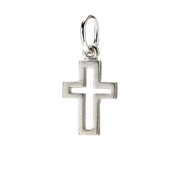 modern+cross+charm%2C+sterling+silver