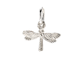 dragonfly+charm%2C+sterling+silver
