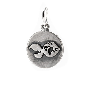fish+charm%2C+sterling+silver
