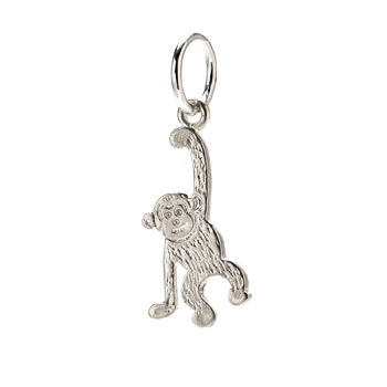 create+sterling+silver+monkey+charm