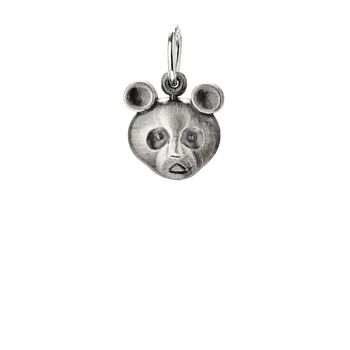 panda+bear+charm%2C+sterling+silver