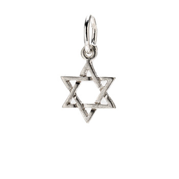 jewish+star+charm%2C+sterling+silver