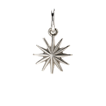 starburst+charm%2C+sterling+silver
