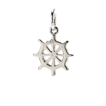 ship+wheel+charm%2C+sterling+silver
