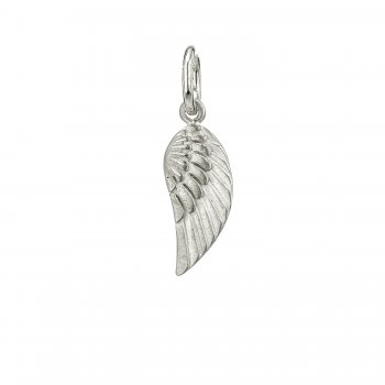 guardian angel wing, sterling silver