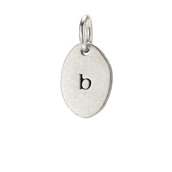 %22B%22+charm%2C+sterling+silver