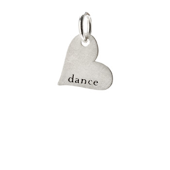 %22dance%22+heart+charm%2C+sterling+silver