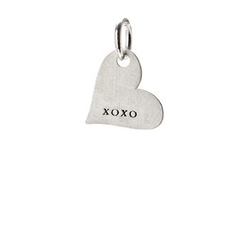 %22xoxo%22+heart+charm%2C+sterling+silver