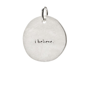 %22I+believe%22+charm%2C+sterling+silver