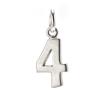 number+%224%22+charm%2C+sterling+silver