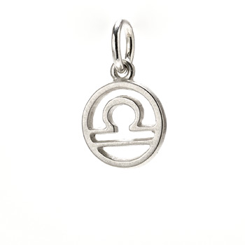 zodiac+%22libra%22+charm%2C+sterling+silver