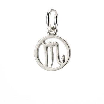 zodiac+%22scorpio%22+charm%2C+sterling+silver