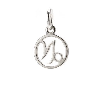 zodiac+%22capricorn%22+charm%2C+sterling+silver