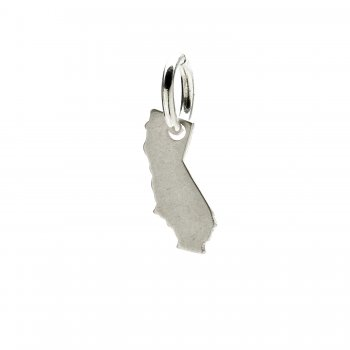 california charm, sterling silver