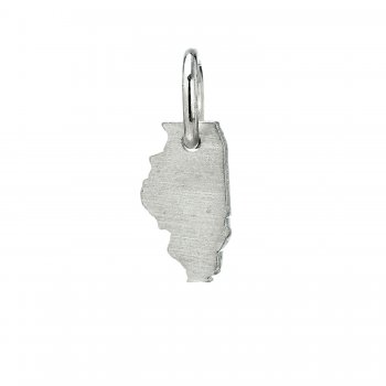 illinois+charm%2C+sterling+silver