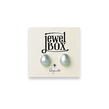 jewel+box+sterling+silver+pebble+stud+earrings