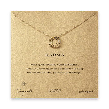 triple+karma+ring+necklace%2C+gold+dipped