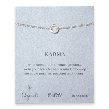 small+hammered+karma+bracelet%2C+sterling+silver