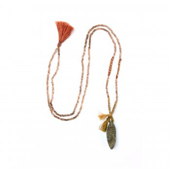 limited+edition+rainbow+pyrite+necklace%2C+faceted+andalusite+gems