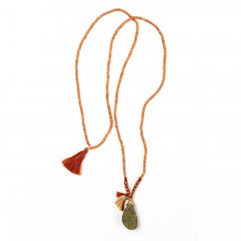 limited+edition+rainbow+pyrite+necklace%2C+faceted+mandarian+garnet+gems