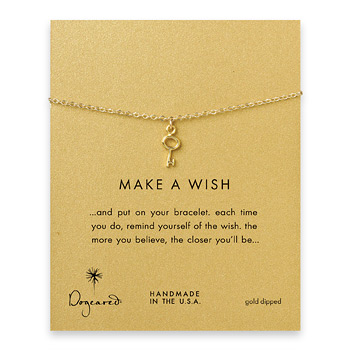 make+a+wish+key+bracelet%2C+gold+dipped