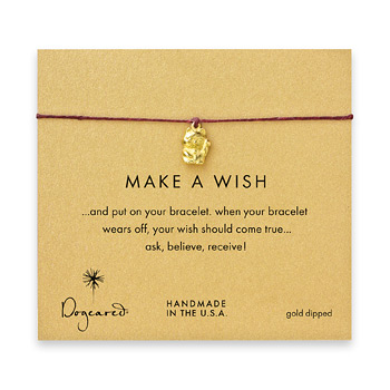 make+a+wish+lucky+cat+bracelet+on+maroon%2C+gold+dipped