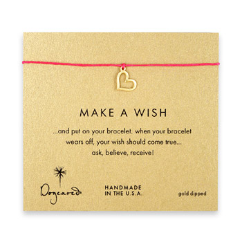 make+a+wish+loving+heart+bracelet+on+fuchsia%2C+gold+dipped