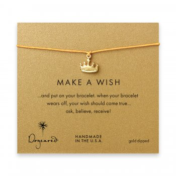make+a+wish+crown+bracelet+on+mustard%2C+gold+dipped