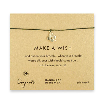 make+a+wish+four+leaf+clover+bracelet+on+leaf%2C+gold+dipped