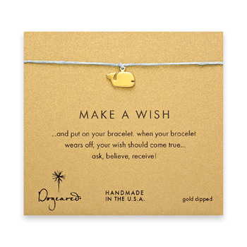 make+a+wish+whale+bracelet+on+turquoise%2C+gold+dipped