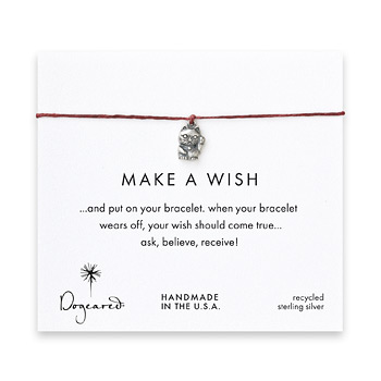 make+a+wish+lucky+cat+bracelet+on+maroon%2C+sterling+silver