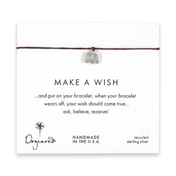 make+a+wish+elephant+bracelet+on+maroon%2C+sterling+silver