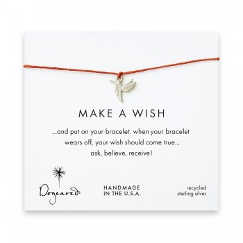 make+a+wish+hummingbird+bracelet+on+burnt+orange%2C+sterling+silver