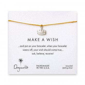 make+a+wish+crown+bracelet+on+mustard%2C+sterling+silver