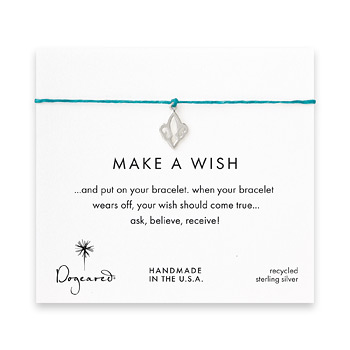 make+a+wish+fleur+de+lis+bracelet+on+teal%2C+sterling+silver