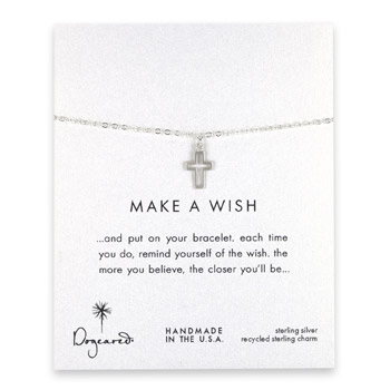 make+a+wish+modern+cross+bracelet%2C+sterling+silver