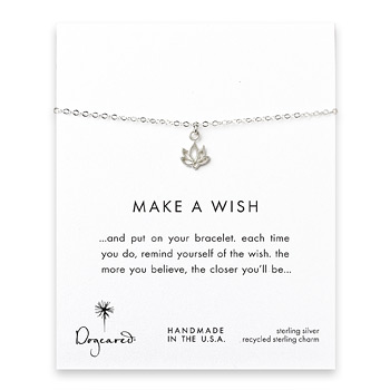 make+a+wish+happy+lotus+bracelet%2C+sterling+silver
