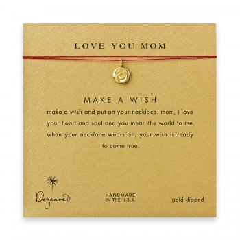 love+you+mom+rose+necklace+on+red%2C+gold+dipped
