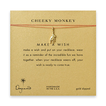 cheeky+monkey%2C+monkey+necklace+on+orange%2C+gold+dipped